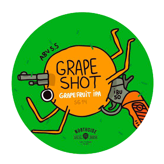 Пивоварня Bierkeller, варка Grapefruit IPA - GRAPE SHOT